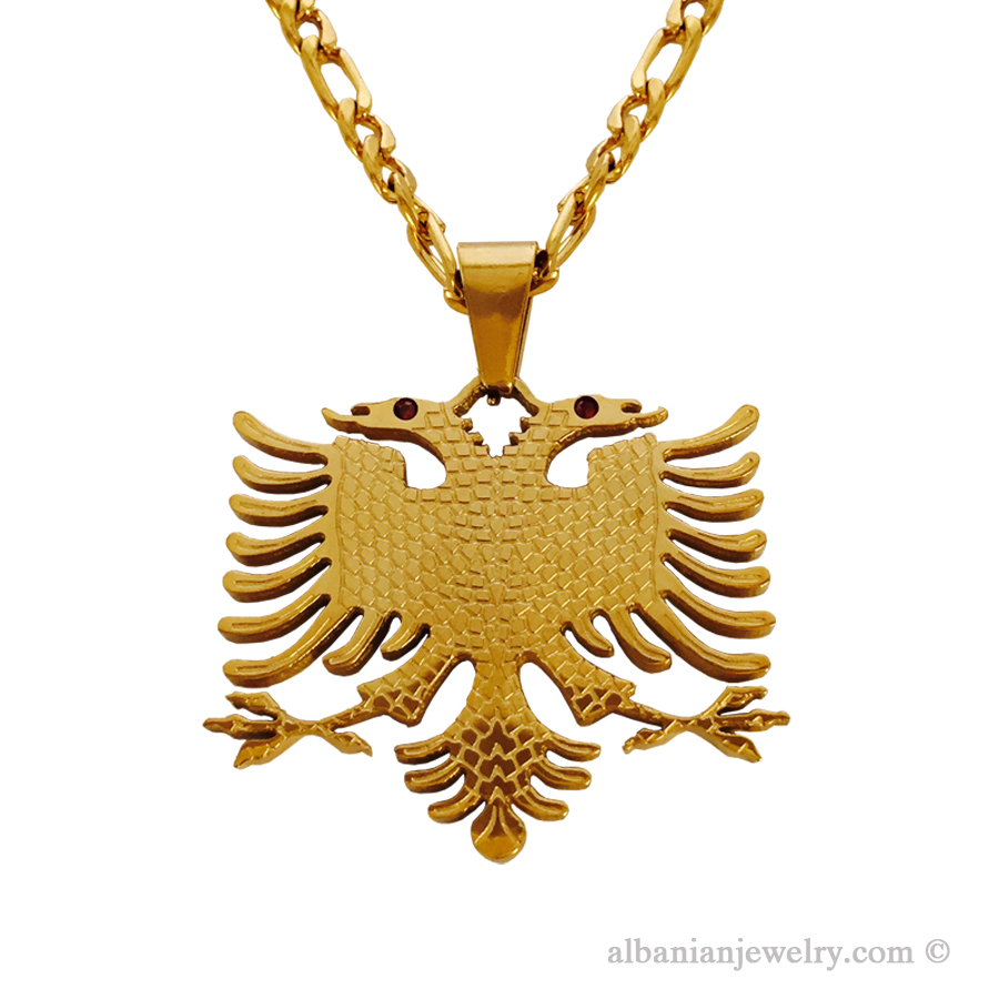 Eagle necklace albanian jewlery eagle necklace aloadofball Gallery
