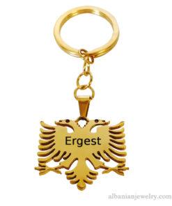 Albanese adelaar sleutelhanger