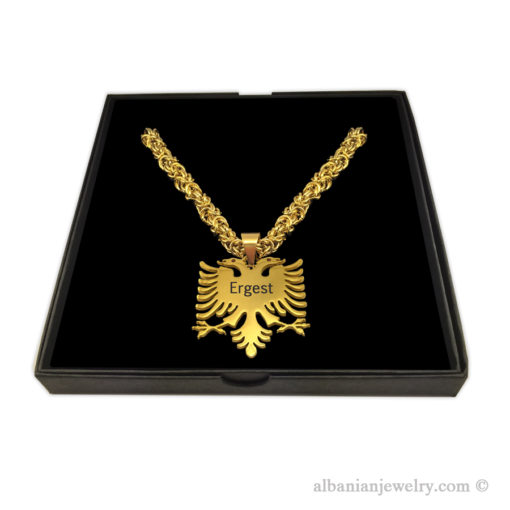 Eagle necklace byzantine