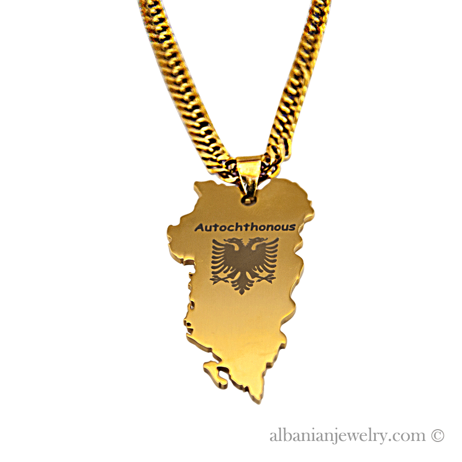 Autochthonous necklace albanian jewlery autochthonous necklace albanian eagle gold necklace aloadofball Gallery