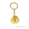 Gold-plated heart up to 4 Names Keychain