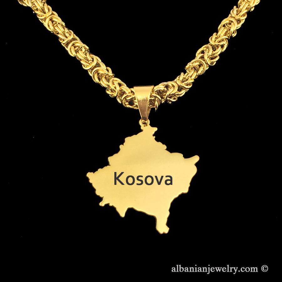 kosova necklace albanian jewlery