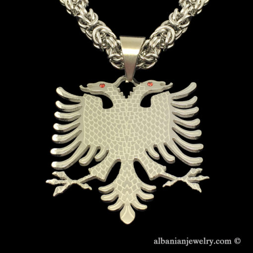 King chain albainia eagle with engraving