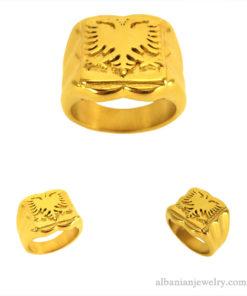 Albanese adelaar ring