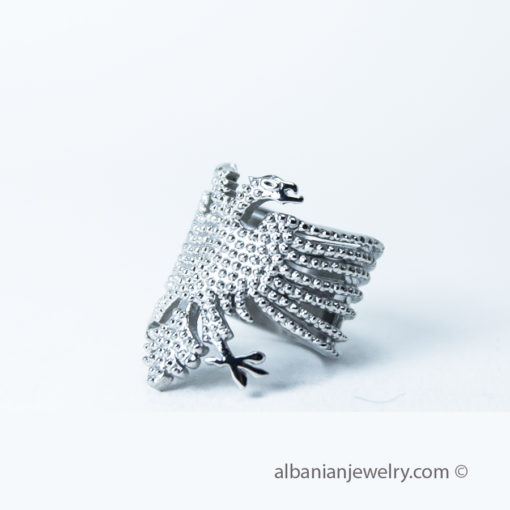 Albanian eagle ring for woman