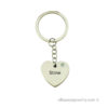 ersonal Heart with Swarovski Stone Keychain